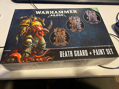 Warhammer 40000 40k Death Guard And Paint Set • 7.50£