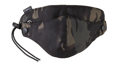 $16.95 • Buy Military Tactical Half Face Mask For Outdoor Game/Sports Dark Night Camouflage