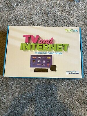 Talk Talk Youview Box Dn360t Freeview Receiver With Catch Up Tv Brand New • 22£