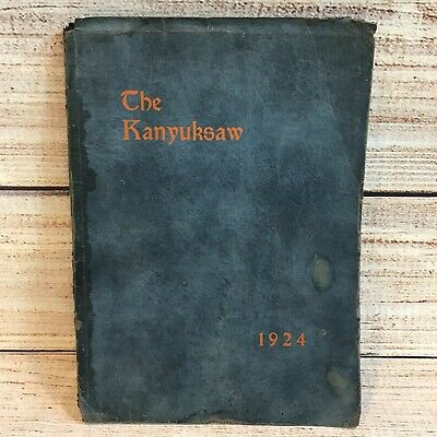1924 High School Yearbook Annual Plant City High School Florida The Kanyuksaw  • 18.81£