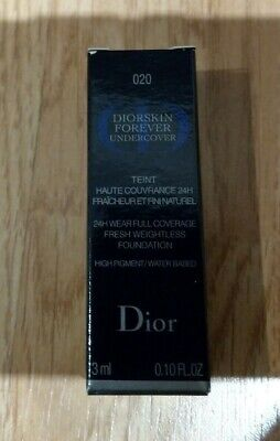 Dior Diorskin Forever Undercover 24H Full Coverage Fluid Foundation 020 3m • 6.50£
