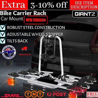 AU253.75 • Buy New 4 BIKE CAR BICYCLE RACK CARRIER Towbar Towball Cycle Hitch Mount Tow Ball AU