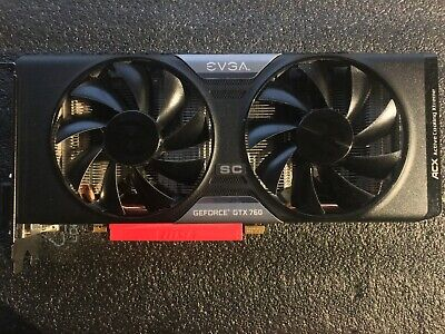 $ CDN2.25 • Buy GEFORCE GTX 760 2GB ACX Active Cooling Extreme Gaming Video Graphics Card