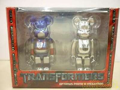 $128.65 • Buy Be @ Rbrick Bearbrick Transformer Optimus Prime & Megatron