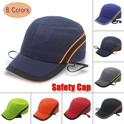 Baseball Bump Caps Lightweight Safety Hard Hat Head Protection Protect Cap • 10.99£