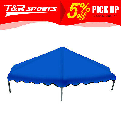 AU69.99 • Buy 6ft-14ft Flat Trampoline Roof Cover Kids Shade Removable Outdoor Sun Protection