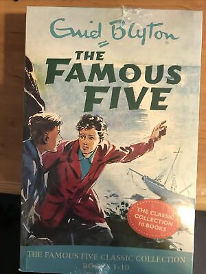 Enid Blyton The Famous Five Classic Collection Books 1-10 Book Set -New/Sealed • 19.99£