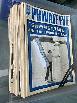 Private Eye Magazine Collection Job Lot Of 1112 Issues From 1977 To Date • 55£