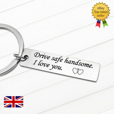 £2.99 • Buy Drive Safe Keyring Stainless Steel Engraved Perfect Gift