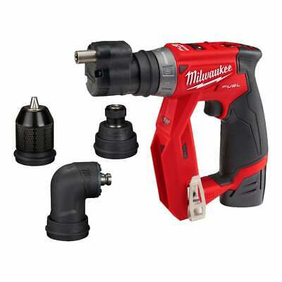 Milwaukee M12FDDXKIT-202X 12v Drill Driver Set With Removeable Heads • 265£