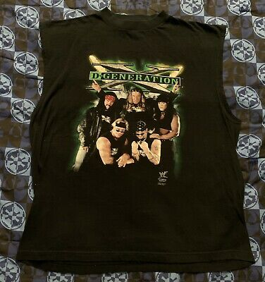 $ CDN114.17 • Buy WWF D Generation X Shirt HHH X Pac Chyna New Age Outlaws DX 90s 1998 Vtg Mens XL