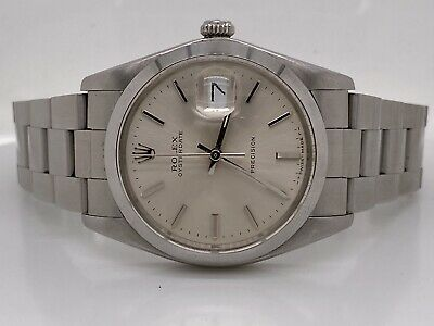 $ CDN4021.11 • Buy 1985 Rolex Oyster Date Precision 6694 Stainless Steel Watch Box And Papers