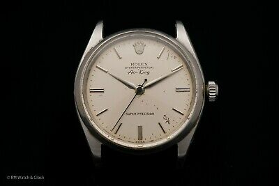 $ CDN782.04 • Buy Vintage Rolex Air King Oyster Perpetual Stainless Steel Case, Dial, & Hands