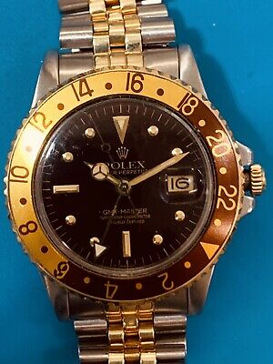 $ CDN17921.75 • Buy Rolex GMT Master Tef 1675 Two Tone Root Beer Vintage Faboulous .(538)