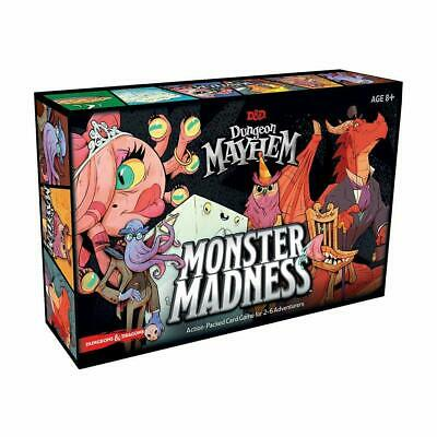 AU41.76 • Buy D&D Dungeon Mayhem : Monster Madness Board Game