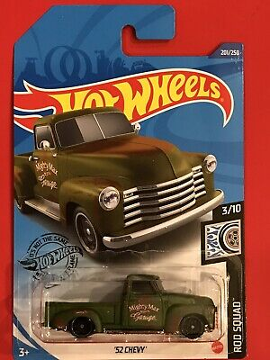 AU3.80 • Buy Hot Wheels 2020 Q Case '52 Chevy Pickup Truck Green Rod Squad
