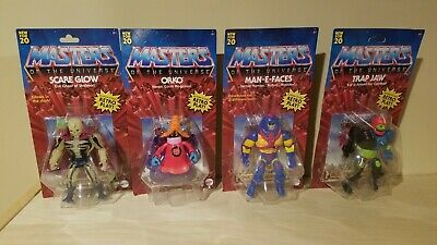$137.50 • Buy Masters Of The Universe Origins Wave 2 Set MOTU Scareglow Trap Jaw