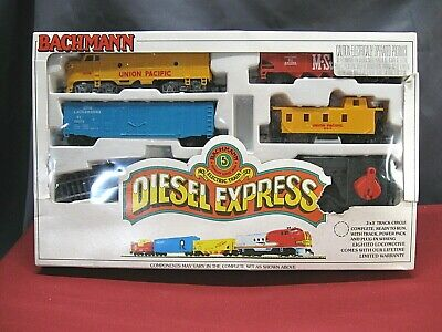 $ CDN64.86 • Buy Vintage Bachmann Diesel Express HO Scale Electric Train Set Union Pacific