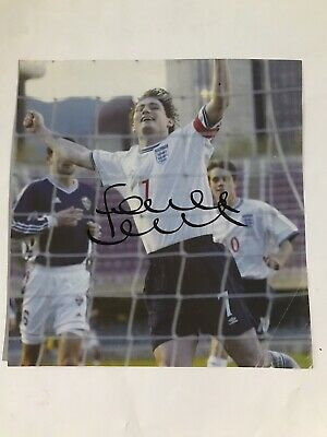 Frank Lampard - England Footballer Signed Picture  • 4.99£