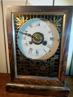 Jerome & Co. Cottage Mantel Clock Working  • 49£