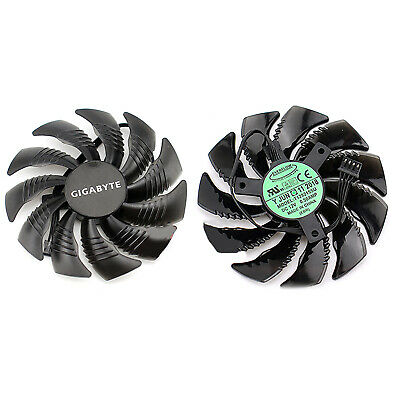 AU13.56 • Buy Graphics Card Cooling Fan For Gigabyte GTX1060 1070 1080Mini ITX BEU