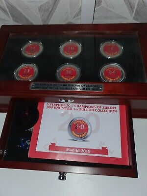 Liverpool Championship Silver Coin Set • 750£