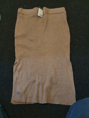 Ladies Bwige Primark New With Tags Knitted Style Maxi Skirt • 3£