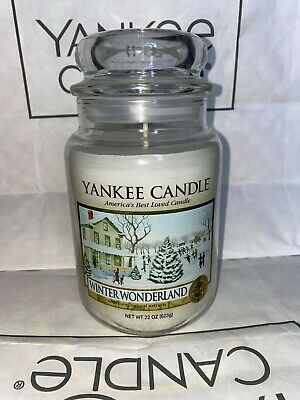 Winter Wonderland Yankee Candle 623g 22oz Large Jar - Brand New Genuine • 29.95£