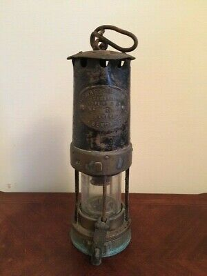 Antique Miners Lamp, Welsh Maker • 36£