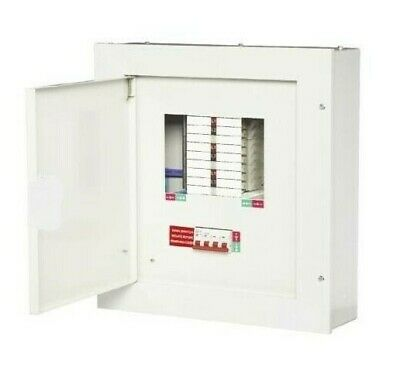 £149.95 • Buy Metal 3 Phase Consumer Unit Distribution Board MCB's & RCBO's