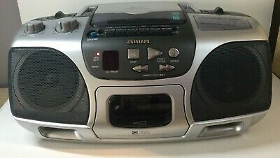 Aiwa CSD-ES227 CD Stereo FM/MW/LW RADIO/CD PLAYER Boombox Ghetto Blaster VGC • 35£