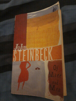 Of Mice And Men By John Steinbeck (Paperback, 2001) • 2.50£