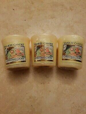 Yankee Candle | Christmas Cookie | Votives (3) • 2.30£
