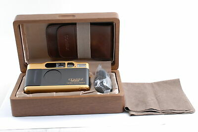 $ CDN2664.26 • Buy [AlmostUnused] Contax T2 Gold & Black T2 60th Anniversary Film Camera From JAPAN