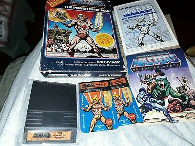 $24.50 • Buy Intellivision - Masters Of The Universe The Power Of He Man In Box