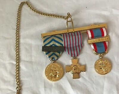 French Military Dress Medals • 75£