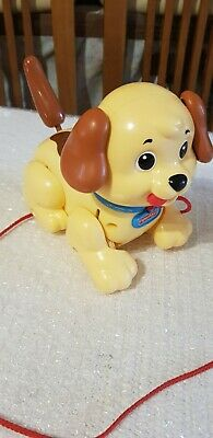 Mattel - Fisher Price -  Lil Snoopy  - Pull Along Dog. • 3.50£