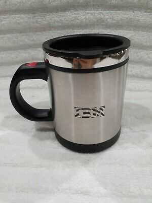 IBM Watson Logo Stainless Steel Coffee Cup With Battery Operated Stirred  • 14.27£