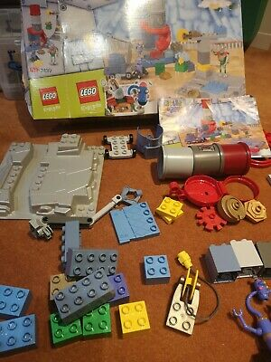 Lego Duplo Little Robots 7439 Stretchy's Junk Yard From 2003 - Complete • 29£