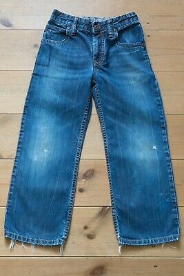 Boys NEXT Relaxed Fit Denim Jeans. Adjustable Waist. Children's Age 7 Years. • 1.50£