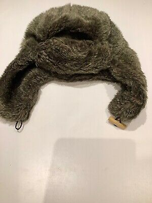 Men's Next Aviator Trapper Hat With Ear Flaps In Faux Fur For Winter • 4.50£
