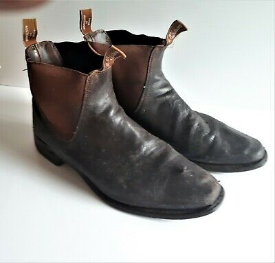 AU2.25 • Buy R.M. Williams Boot, Size 11H CF - Chestnut - Used
