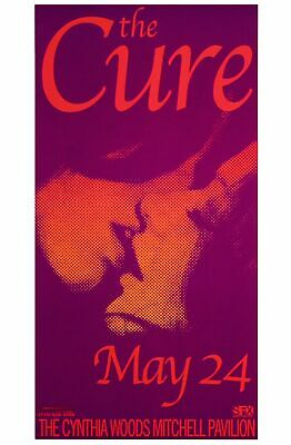 £19.42 • Buy The Cure Concert Poster 2000 Uncle Charlie Houston