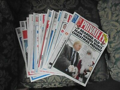 20 Issues Private Eye Magazine 2019 • 4£