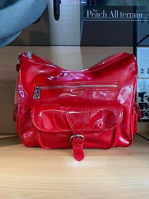 Brand New ICandy Luxury Baby Changing / Nappy Bag. Stunning RED Great Gift • 23.99£