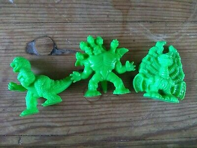BUNDLE Monster In My Pocket Green MIMP By Matchbox No1 Great Beast Hydra T-Rex  • 9.99£