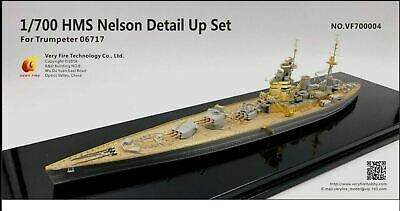 £46.99 • Buy Very Fire 1/700 HMS Nelson 1939 Detail-up Set For Trumpeter 06717 VF700004