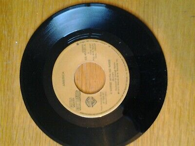 America - A Horse With No Name B/w Sister Golden Hair Warner Brothers Gs 45101  • 4.50£