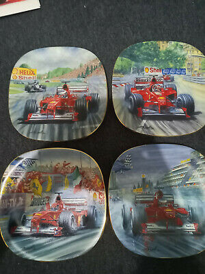 Bradford Exchange Collectors Plates Formula 1 (4 Plates) • 60£