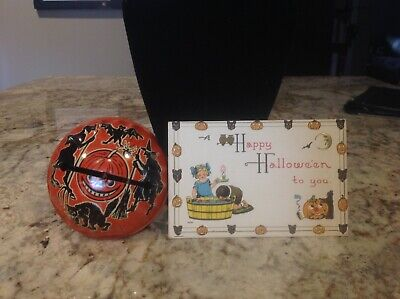 $ CDN46.70 • Buy Vintage Halloween Noise Maker And Postcard